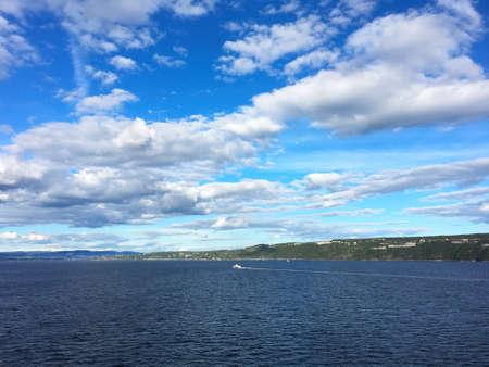 oslo: Landscape in the Oslo fjord, Norway.