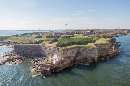 Suomenlinna sea fortress just outside Helsinki, the capital of Finland.