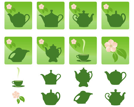 Vector art in format. All icons organized in groups for usability. Stock Vector - 4930433