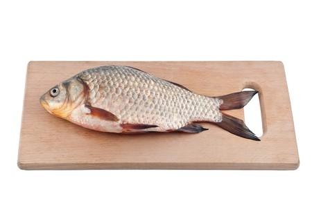 crucian: Fish crucian on board.