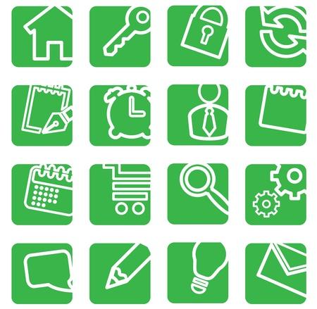 search icon: Set van eenvoudige iconen voor decoratie.