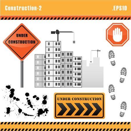 Construction Set Vektor. Standard-Bild - 10690471