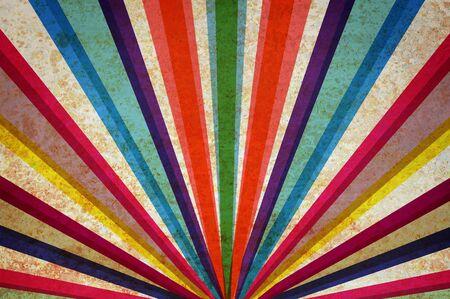 Multicolor Sonnenstrahlen grunge Hintergrund. Standard-Bild - 11590915