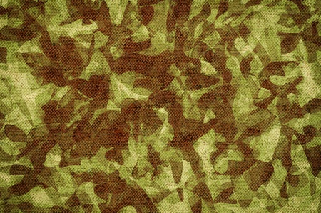 Camouflage background abstract on canvas. photo