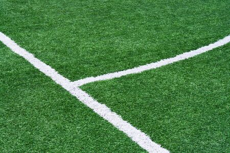 touchline: Part of a football field with marking.