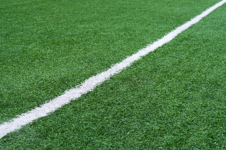 touchline: Football field with artificial surface.
