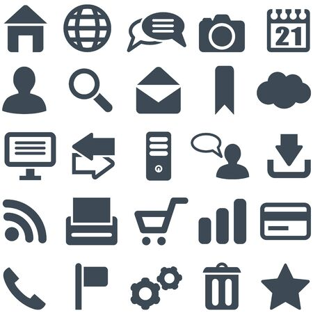pictogrammes: Universal set of icons for web and mobile  , that can be scaled to any size without loss of quality