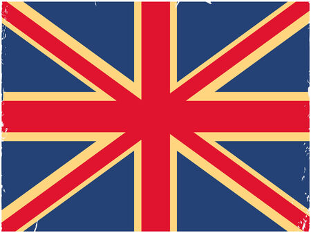 Shabby British flag. Image can be used as wallpapers, print on paper, fabric and gadgets.