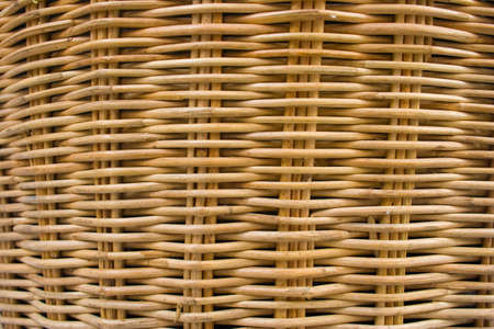 basket weaving: Wicker basket weaving pattern of the lines to the coil