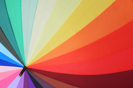 segments: rainbow colorful umbrella background