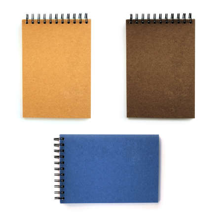 blank sketch book isolated. Stock Photo - 11385580