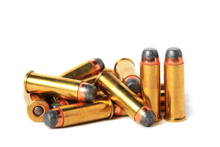 magnum: 44 munitions Magnum isol� Banque d'images