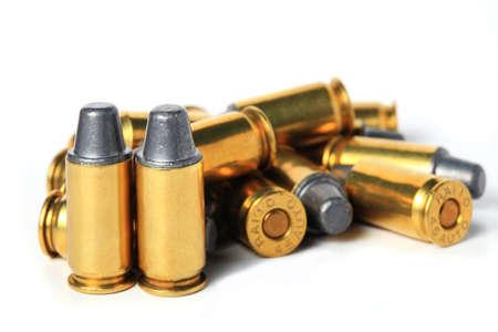 45 ammo: cartridges of  45 ACP pistols ammo