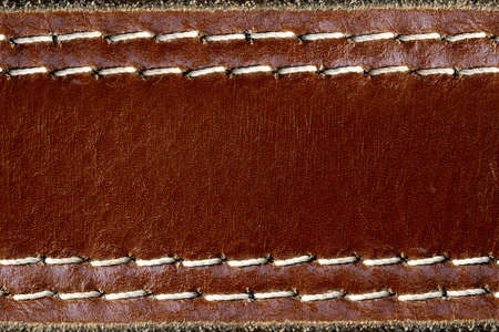 grunge Leather brown background   Stock fotó
