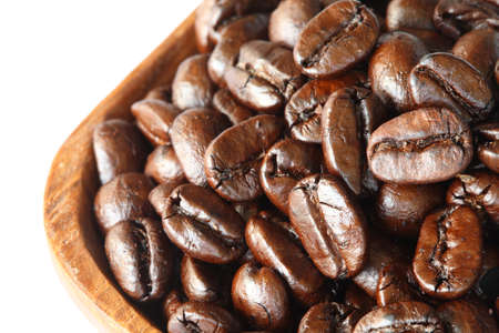 ingradient: coffee beans background close-up