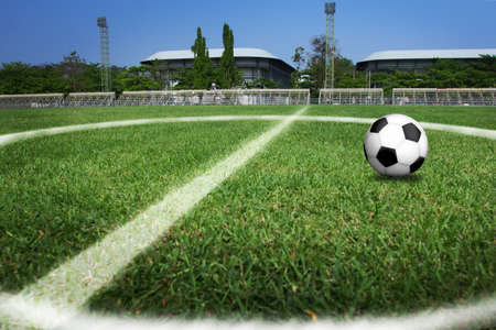 athletic activity: soccer field