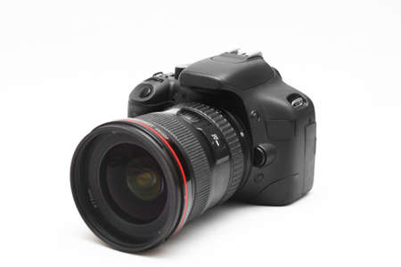 digital camera isolated white  Stock Photo