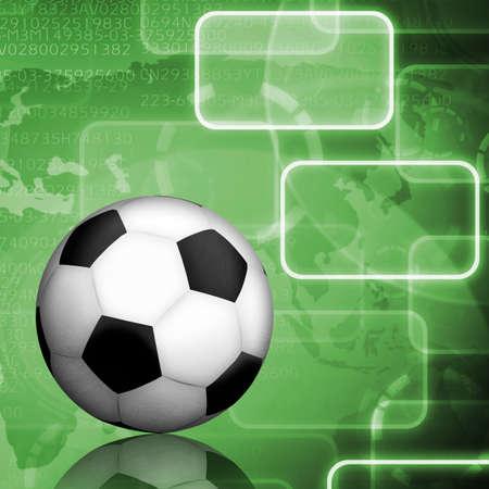 terrain de handball: de football avec l'icône de fond