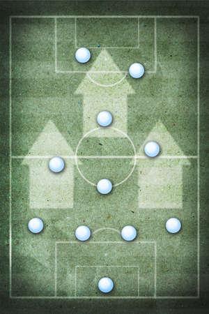 soccer strategy board  photo