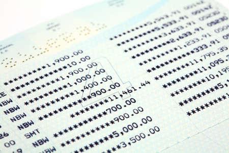 cuenta bancaria: Cuenta de ahorro libreta de ahorros