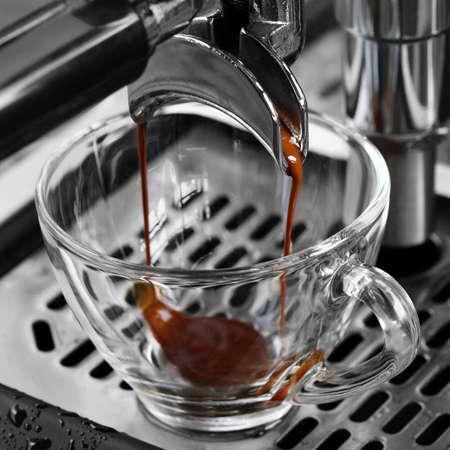 crema: espresso coffee Stock Photo