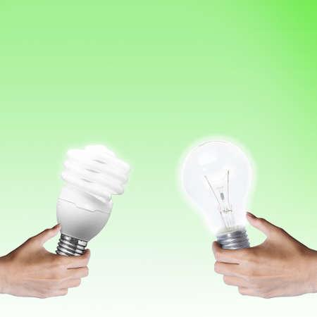 intelligent partnership: exchange idea bulb