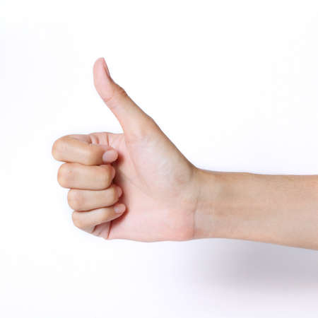 hand thumb up Stock Photo - 14394518
