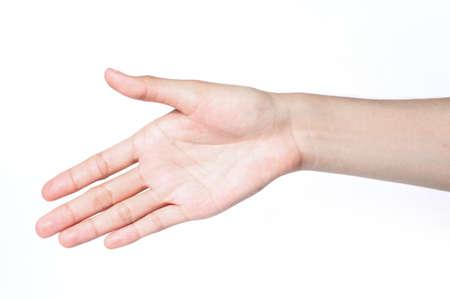 hand shake Stock Photo - 14394517