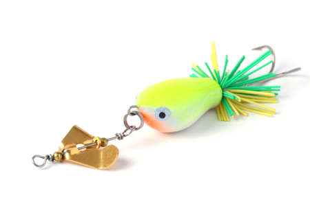 fishing lure with wind wheel  photo
