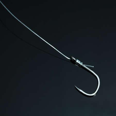 dangerouse: hook in dark Stock Photo