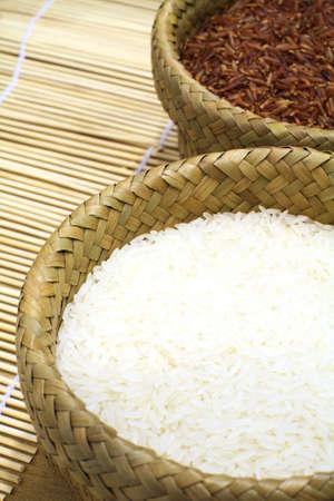 uncook rice  photo