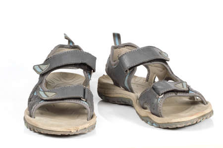 sandals isolated: sandals isolated  Stock Photo