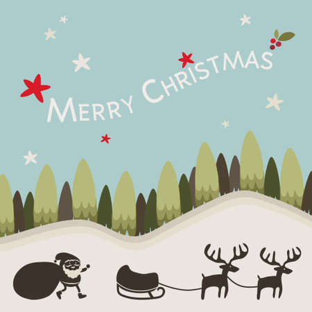 Christmas background , vector photo