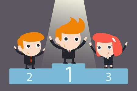 realization: successful business team