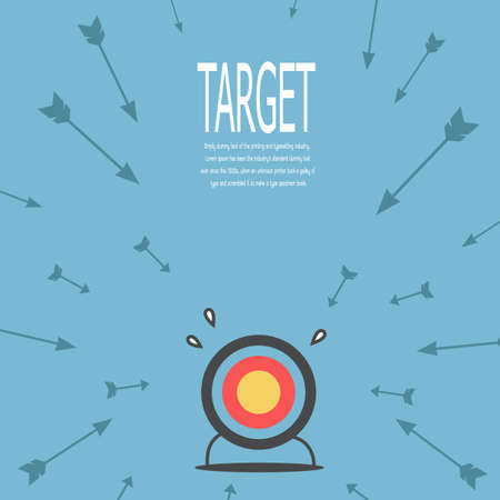 goals: target Illustration
