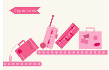 packing suitcase: viaggiare