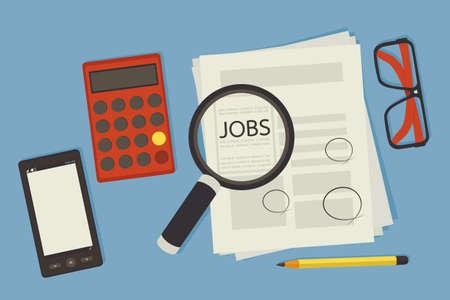 job seeking Stock Vector - 18684610