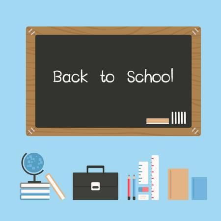 niños escribiendo: volver a la escuela
