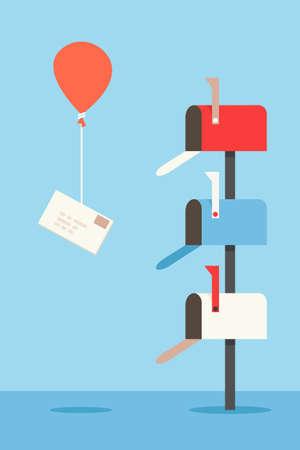 buzon: buzón de correo