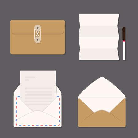 secret service: envelope set