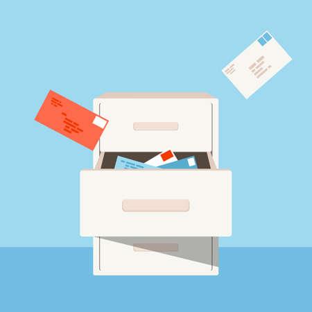 air mail: mail box