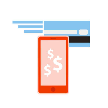 Mobile banking Stock Vector - 18936319