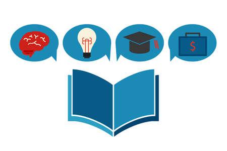 education concept icon design, vector Stock Vector - 20980864