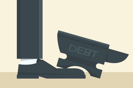 anvil: debt on foot
