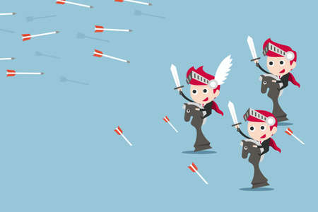 charactor: leadership concept, vector