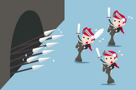 shiled: obstacle  Illustration