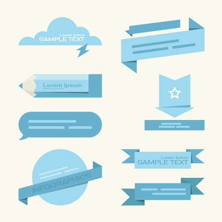 speach: tag - label minimal designs, vector