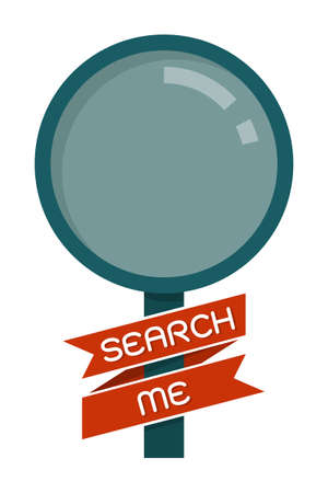 magnifying glass, search icon vector Stock Vector - 21905164