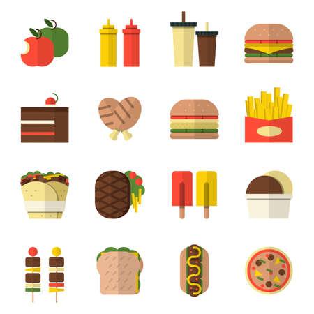 voedsel pictogram ontwerp.