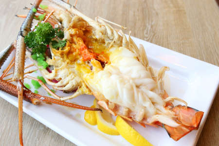 grilled prawn photo